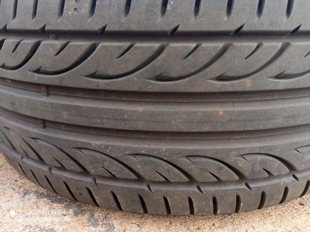 Jogo de roda e pneus praticamente zero aro17 Mercedes 180 - Foto 4