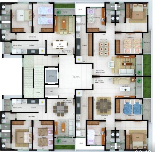 Apartamento 3 quartos no Bancários  - Foto 3