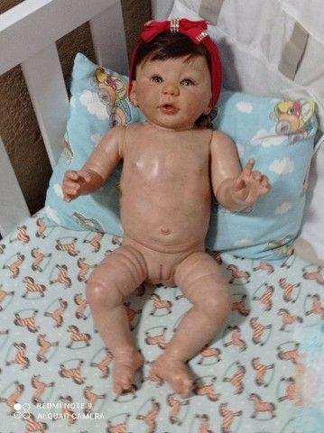 Está linda bebê reborn