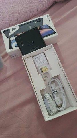 Samsung a10s com 6 meses de uso. Na garantia  - Foto 2