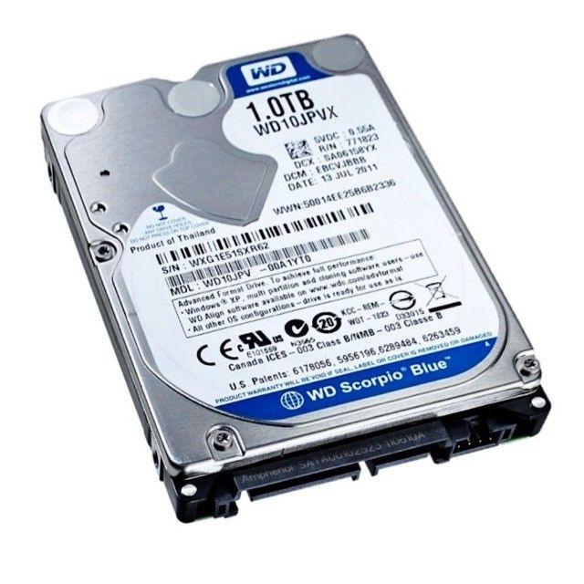 HD Notebook Western Blue Slim 1 Terabyte