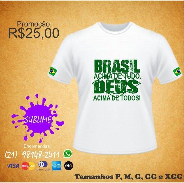 Camisa ProBrasil sublimada - Foto 3