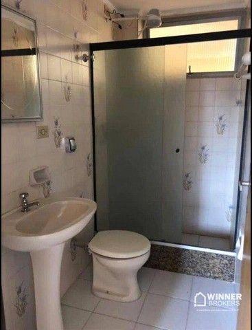 Apartamento com 3 dormitórios para alugar, 84 m² por R$ 1.200,00/mês - Zona 06 - Maringá/P - Foto 10