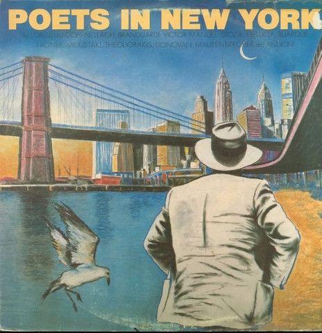 LP Poetas em Nova Iorque.  Part. Fagner