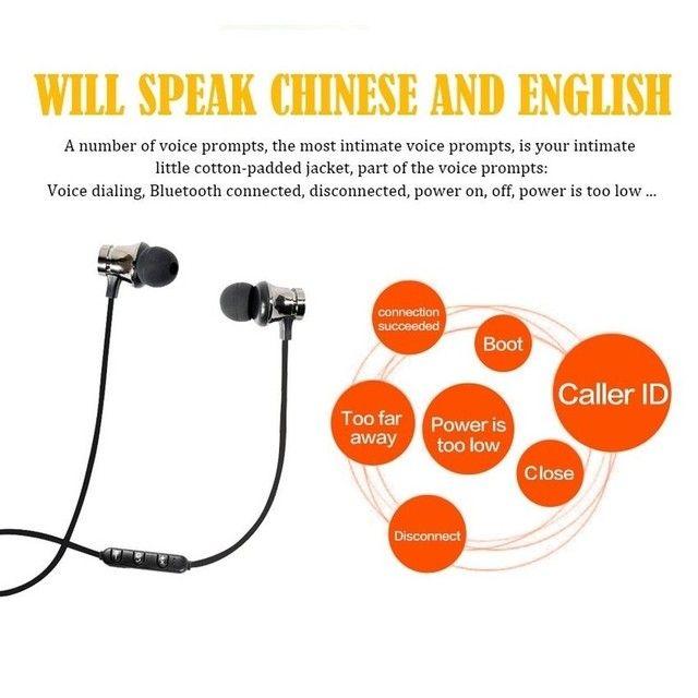 Fone De Ouvido Com Bluetooth / Sensor De Movimento Com Microfone Hd Sem Fio / - Foto 4