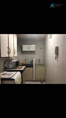 Flat com 1 dormitório para alugar, 52 m² por R$ 1.600,00/mês - Praia de Iracema - Fortalez - Foto 7