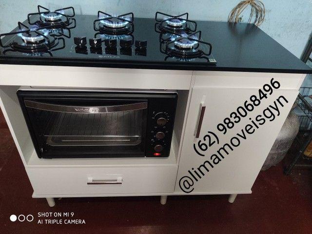 Frete e montagem grátis // kit fogão completo - Foto 3