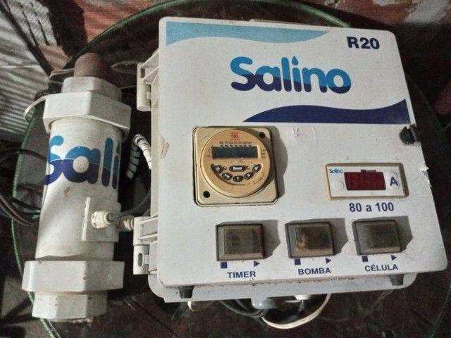 Gerador de cloro a base de sal