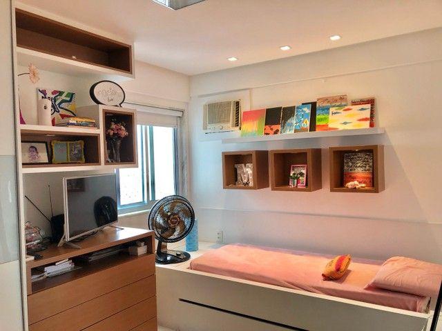 Apartamento com 3/4 completo de armários na ponta verde  - Foto 6