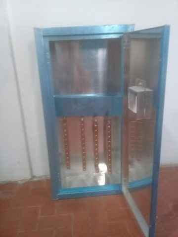 01 caixa de barramento  de aluminio 80 x 40 R$220,00 - Foto 2