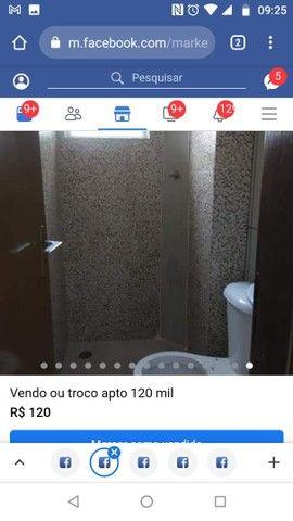 Vendo ou troco apartamento quitado - Foto 9