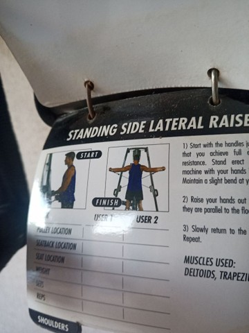 Ilha de musculação Vision Fitness completo + pesos e suporte - Foto 6