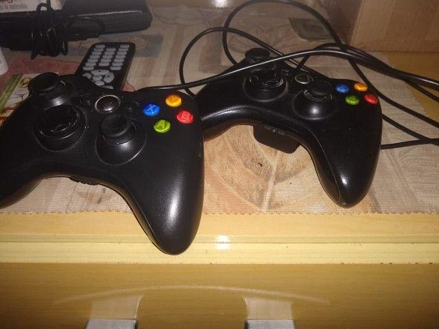 Xbox 360 desbloqueado com 10 jogos mais HD 250gb - Foto 3