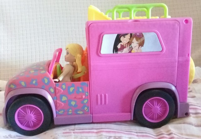 Polly Pocket Trailer Safari