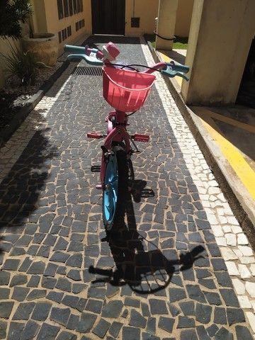 Bicicleta Aro 16 - Barbie - Caloi - Foto 2