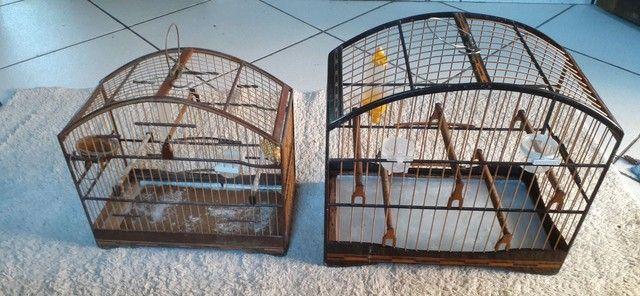 Vendo ou troco gaiolas usadas mas conservadas  - Foto 2