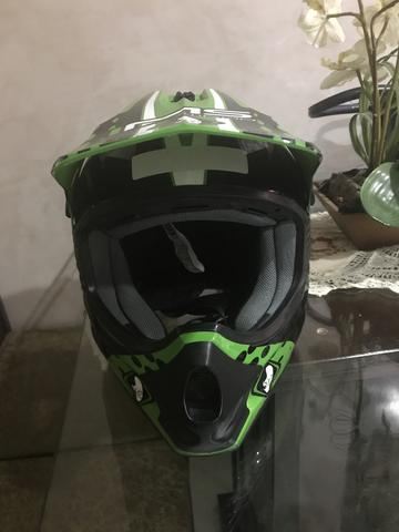 Vendo capacete cross n 52