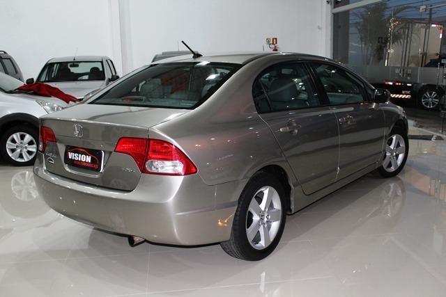 Honda Civic 1.8 LXS Automático 2007 Gasolina Dourado
