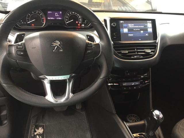 Peugeot 208 Griffe 1.6 Branco Pérola 2015 - Foto 7