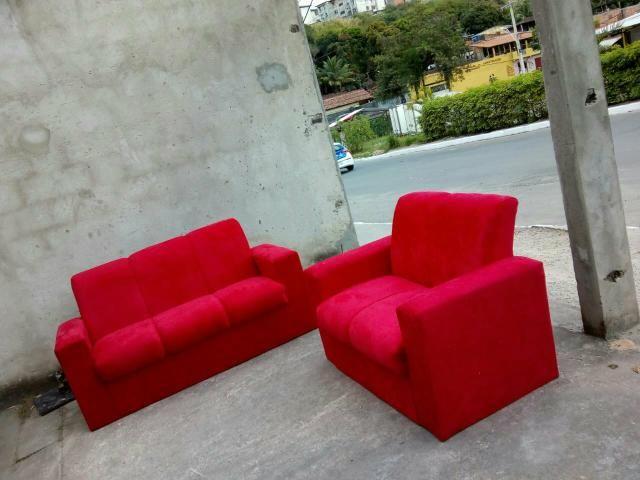 (NOVO) sofá de 2 e 3 lugares fabricantes