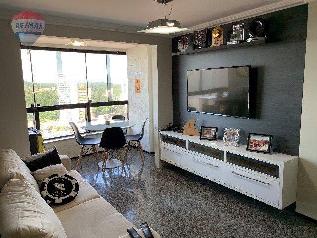 Apartamento Ocean View - Petrópolis com 75m2 com 2 quarto (1s) e 2 VG - Foto 7