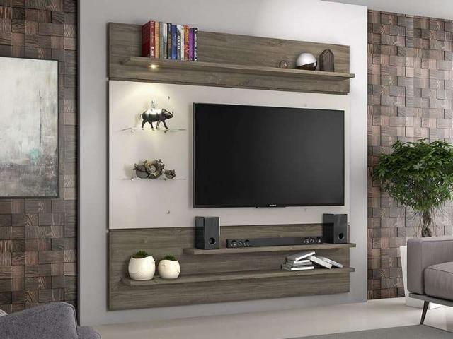 Painel NT 1010 para Tv até 60 Poleg. 184 x 182 x 31 cm (Em Até 12 X Sem Juros)