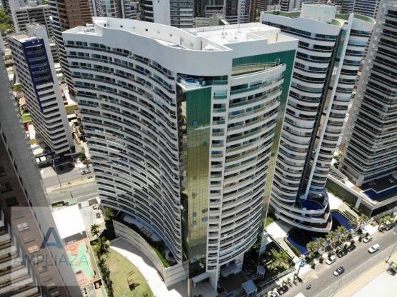 Apartamento à venda, 130 m² por r$ 2.000.000,00 - meireles - fortaleza/ce