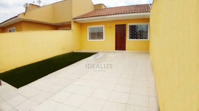 Casa de condomínio à venda com 2 dormitórios em , São josé dos pinhais cod:1414389