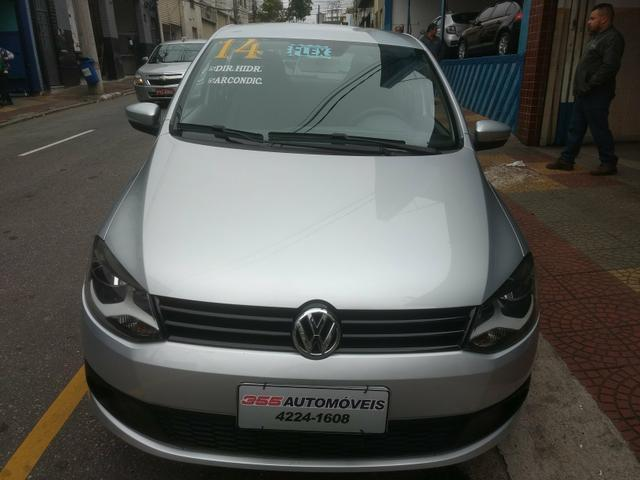VW Fox 1.6 Trend GII Prata Completo 2014 2º Dono R$ 32.900,00 - Foto 2