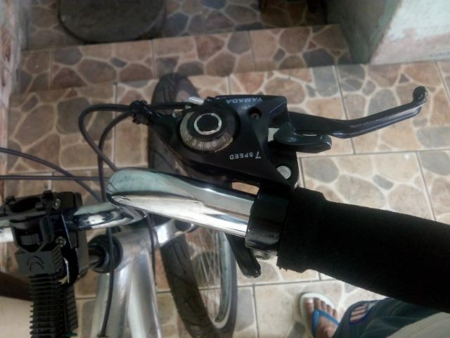 Bicicleta alumínio - Foto 4