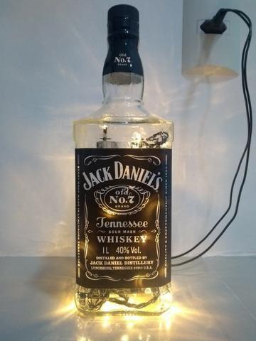 Luminária Jack Daniels Decorativa
