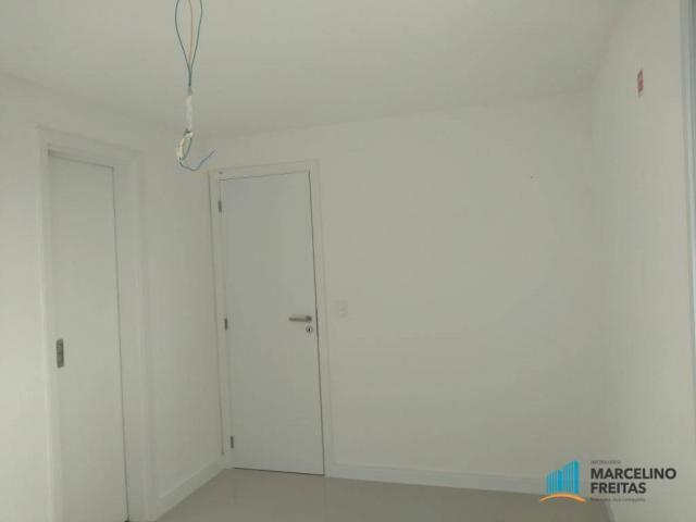 Apartamento com 3 dormitórios para alugar, 110 m² por r$ 2.079,00/mês - salinas - fortalez - Foto 15