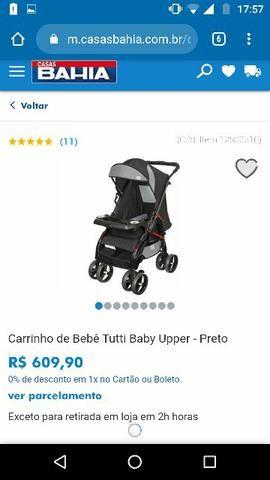 Carrinho de bebê tutii baby