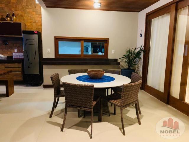 Casa de condomínio à venda com 5 dormitórios em Praia do forte, Mata de são joão cod:5811 - Foto 8