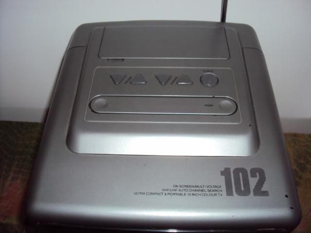 "TV 10"" Polegadas Semp Toshiba Modelo 102 Portátil Televisão Televisor - Foto 5"