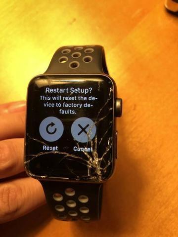 Troca telas relogio da Apple, da 1 ate a 5 geração, Preços Otimos !!!!!!!!!!
