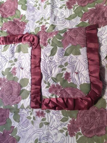 Colcha de cama de casal acolchoada - Foto 5