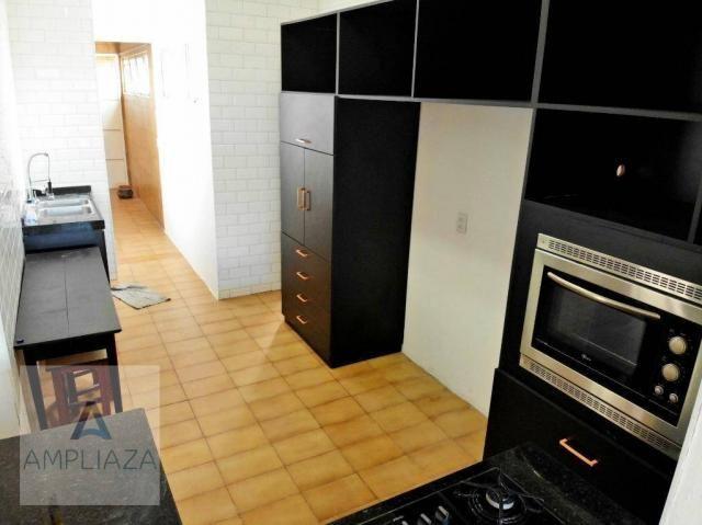 Apartamento com 3 dormitórios para alugar, 238 m² por r$ 2.200/mês - aldeota - fortaleza/c - Foto 8