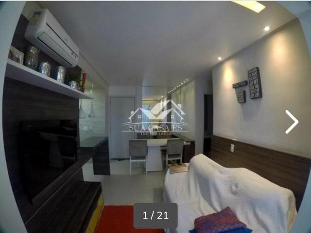 GM - Lindo Apartamento Decorado Villagio Limoeiro Fica tudo - ES - Foto 12