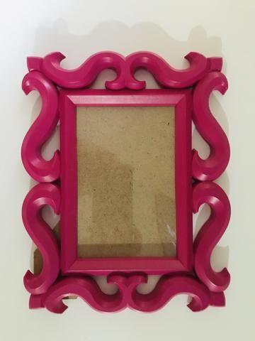 Porta-retrato rosa