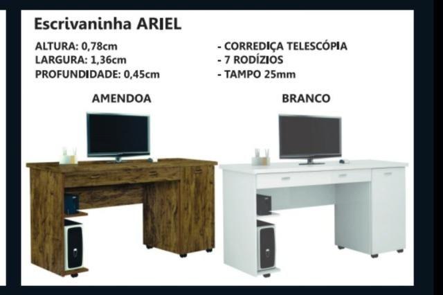 Escrivaninha Ariel Mesa computador diretamente da fábrica