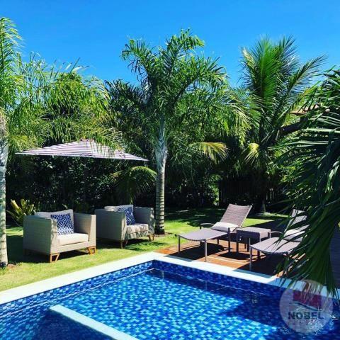 Casa de condomínio à venda com 5 dormitórios em Praia do forte, Mata de são joão cod:5811 - Foto 6