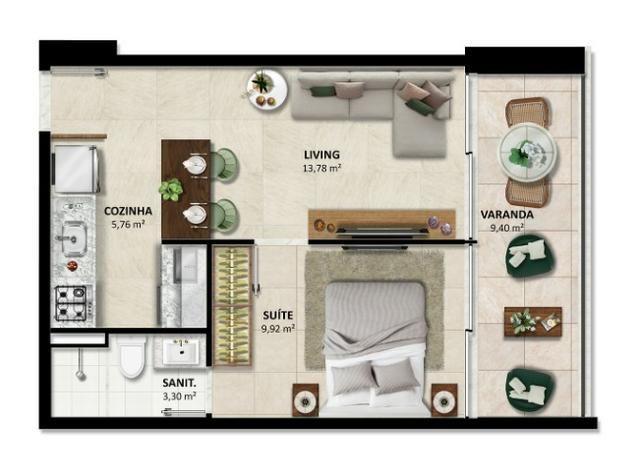 Lançamento - Duetto Barra - Apartamentos de 1 e 2 quartos Vista Mar na Barra - Foto 2