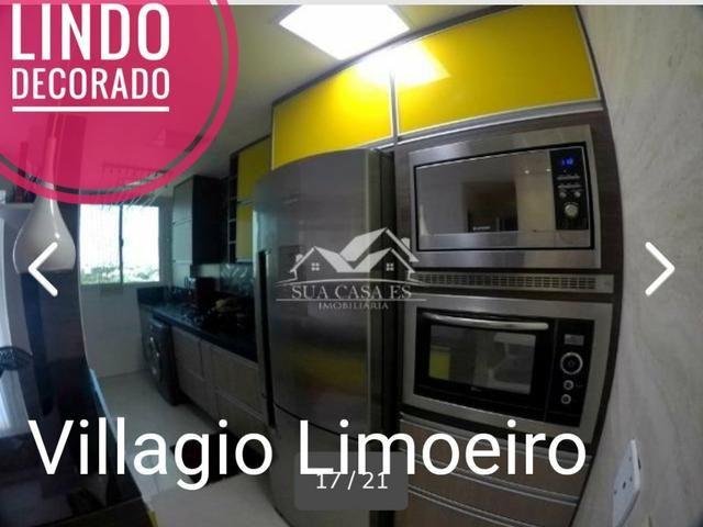 GM - Lindo Apartamento Decorado Villagio Limoeiro Fica tudo - ES