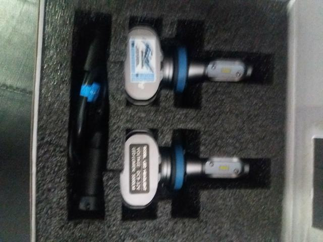 Led ultra led h11 schocklight Nova na embalagem garantida instalado - Foto 2