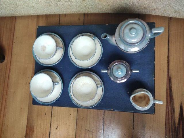 2 Jogos de xícaras de chá Japonesas com Bules - Foto 5