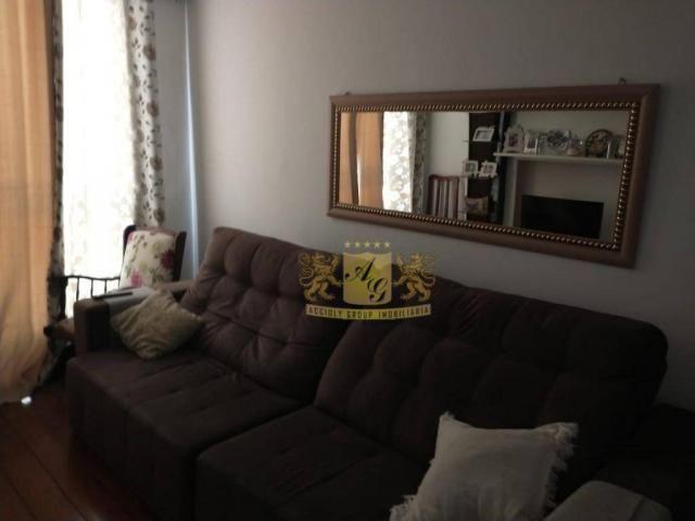 Cobertura com 3 dormitórios para alugar, 110 m² por R$ 3.000,00/mês - Icaraí - Niterói/RJ - Foto 2