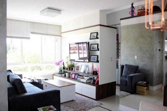Apartamento com 3 dormitórios à venda, 80 m² por R$ 600.000,00 - Jardim Botânico - Porto A - Foto 2