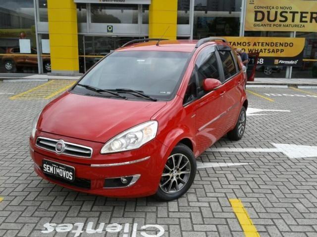 FIAT IDEA ESSENCE 1.6 16V DUALPLUS Vermelho 2014/2015 - Foto 2