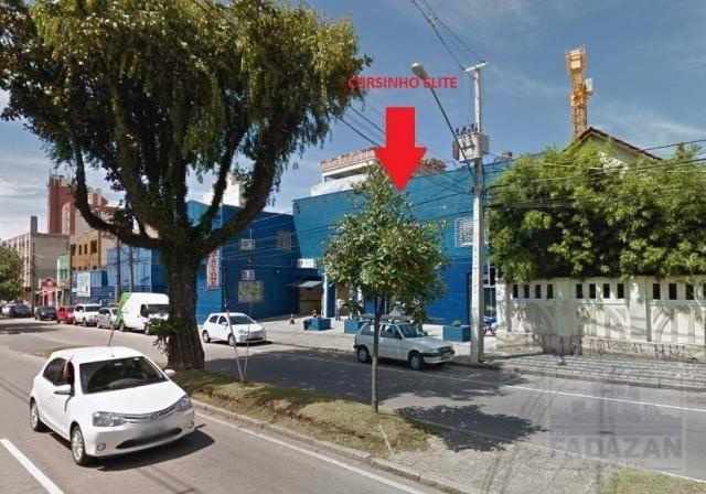 Studio com 1 dormitório para alugar, 38 m² por R$ 1.400,00/mês - São Francisco - Curitiba/ - Foto 12